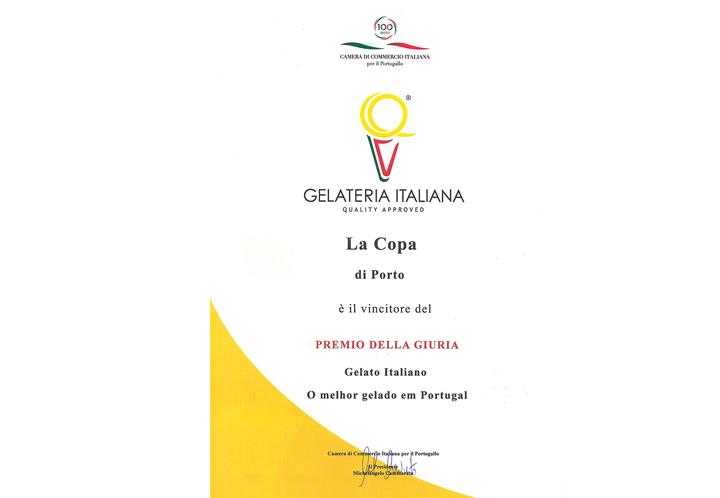 Melhor Gelado Italiano em Portugal (2017)
